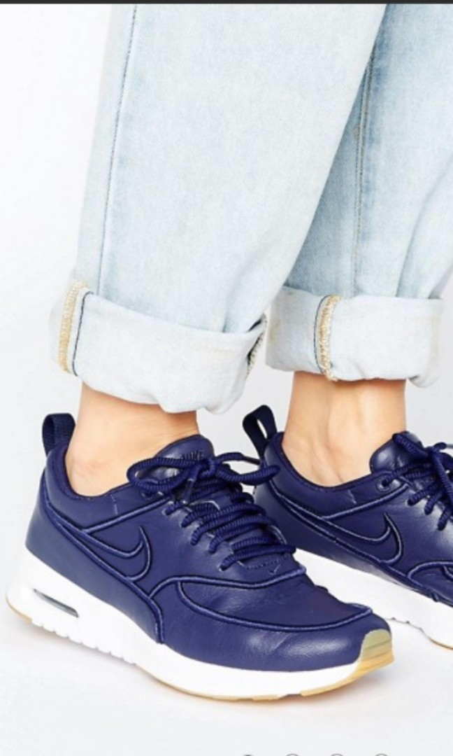 9ce7ce739b Nike Air Max Thea Ultra Sneakers In Navy - Sale!, Women's Fashion ...