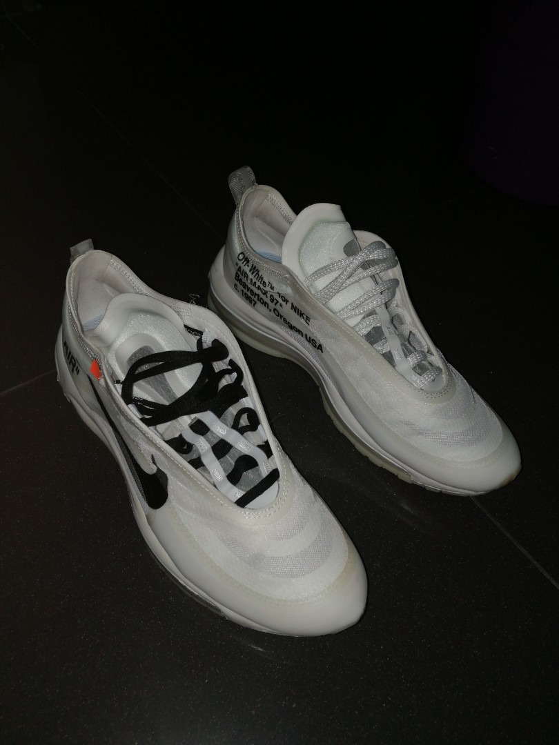 FS] Nike x Off White Air Max 97 {UK 8}{£380} open to trades