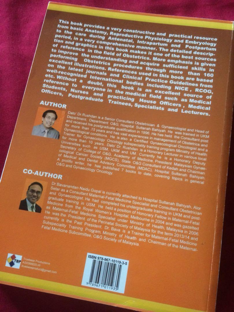 O&G (Obstetrics & Gynaecology) textbook