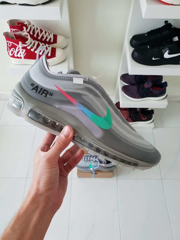 OW x Nike Air Ax 97 Menta e463d9479
