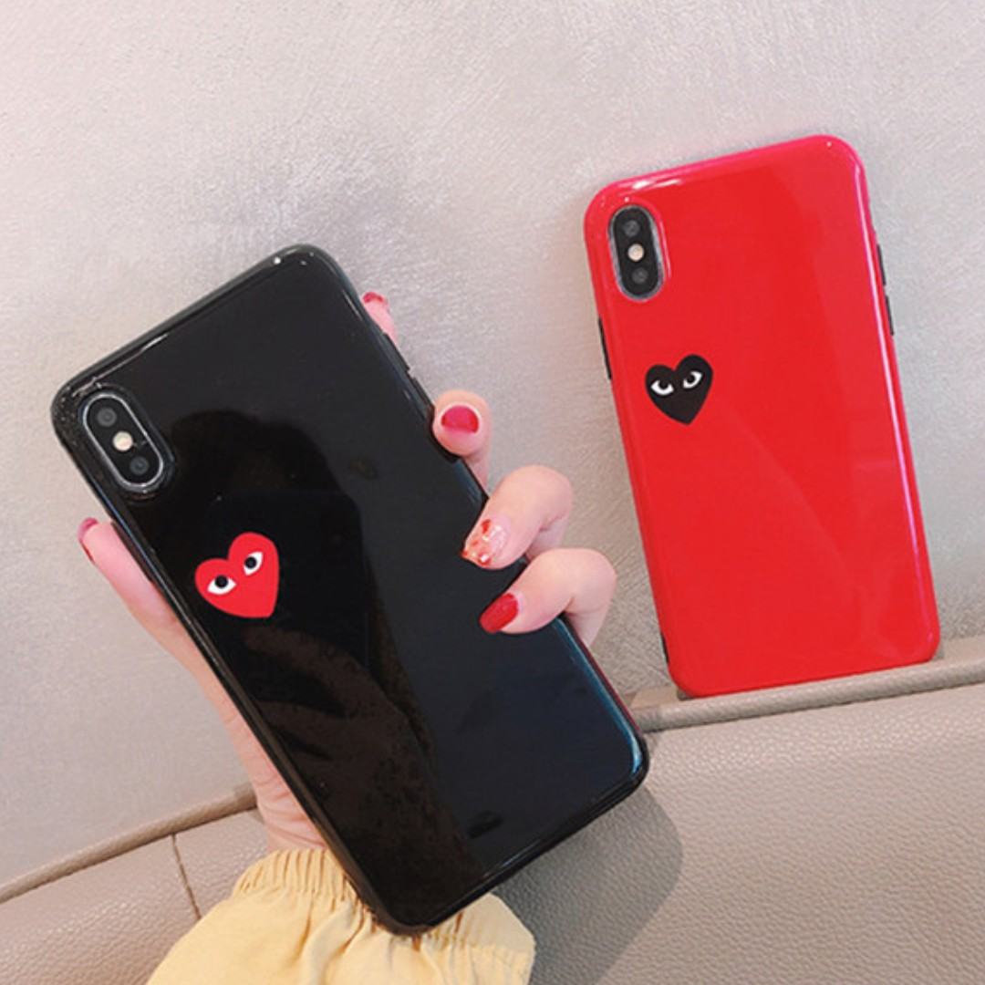 brand new a9437 604b5 [PO] inspired cdg iphone case