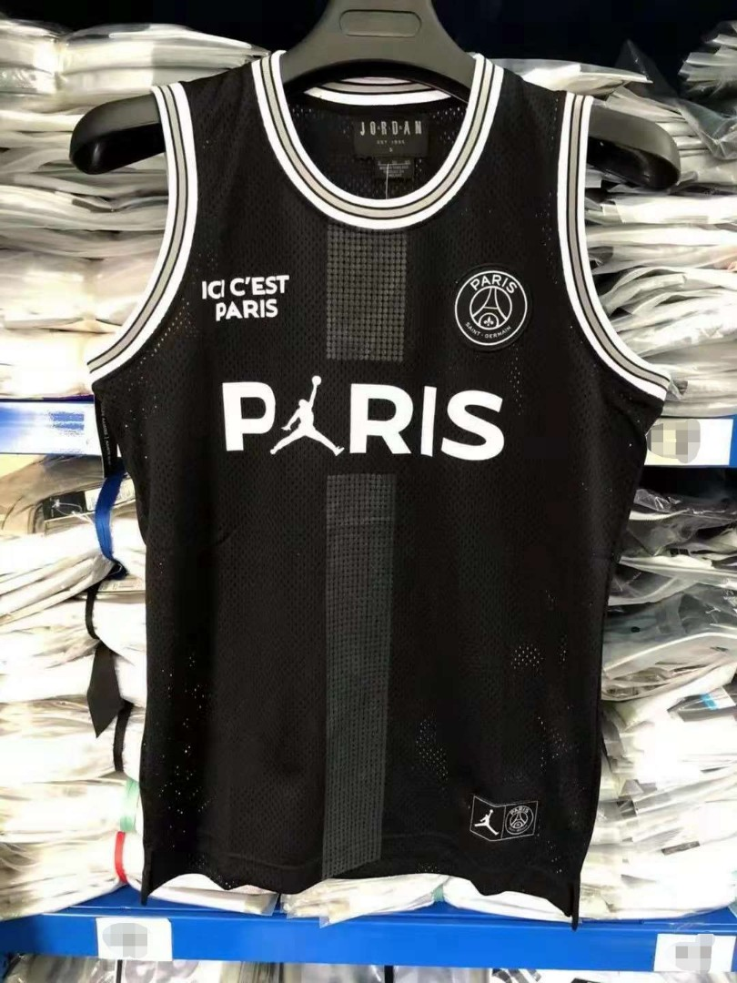 PSG x Jordan Basketball Jersey, Sports, Sports Apparel on
