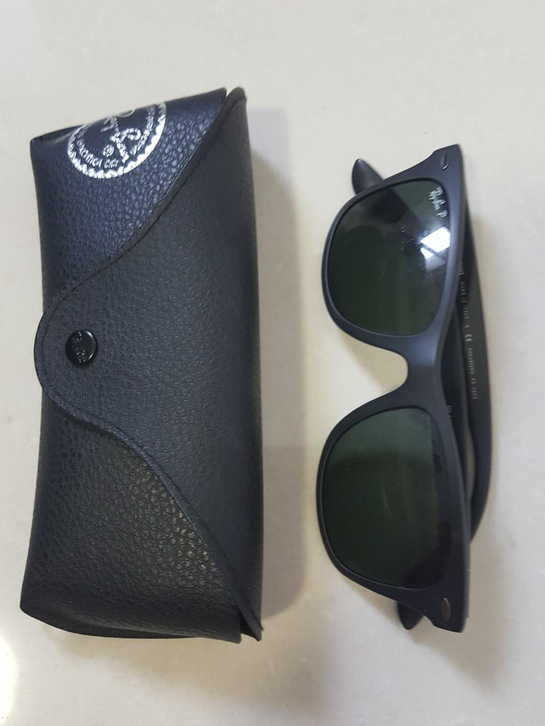 Ray ban sunglasses matte black