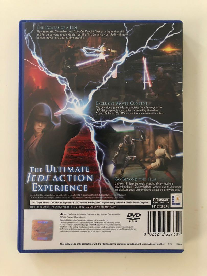 Sony PlayStation 2 PS2 Star Wars III 3 - Revenge Of The Sith