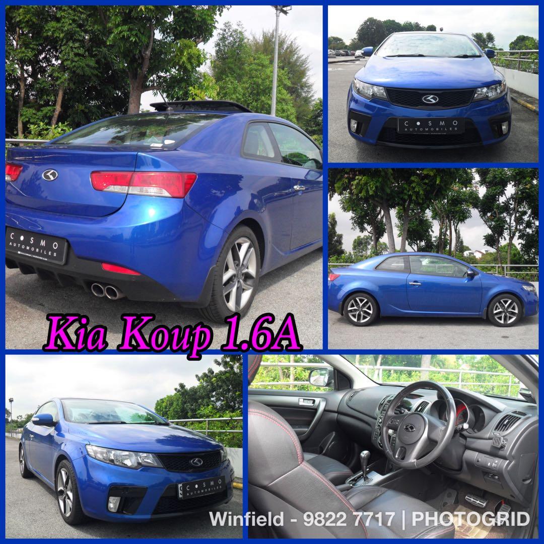 Sporty 2 Doors Kia Koup 1 6a 2k Downpayment Monthly 1 1k Car