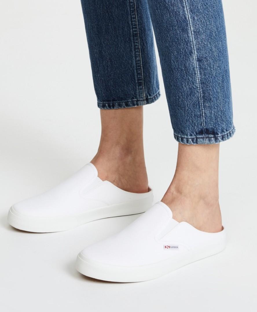 Superga Mules Sneakers (Size EURO 41