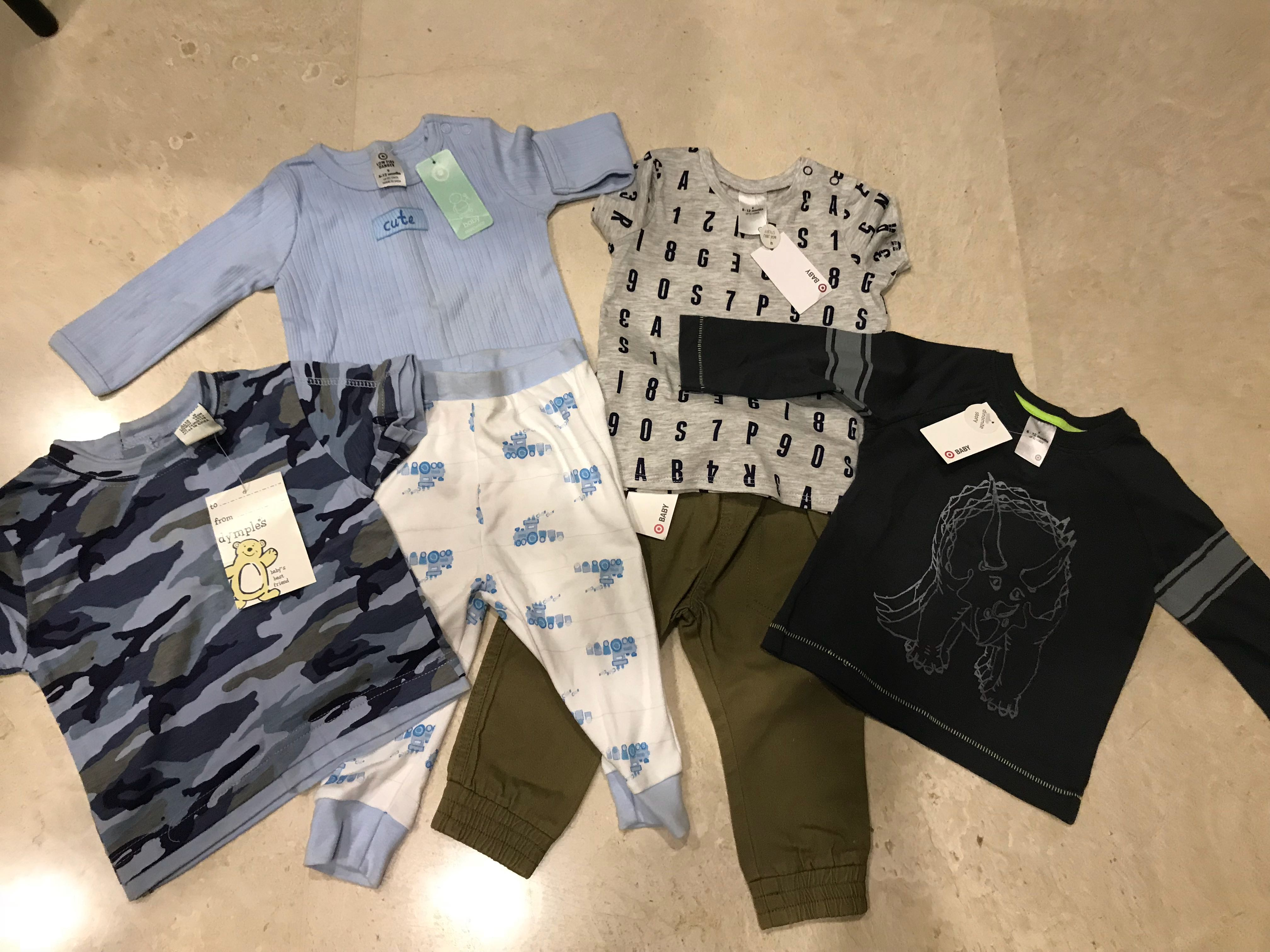59fff79fa Target baby clothes (new), Babies & Kids, Babies Apparel on Carousell