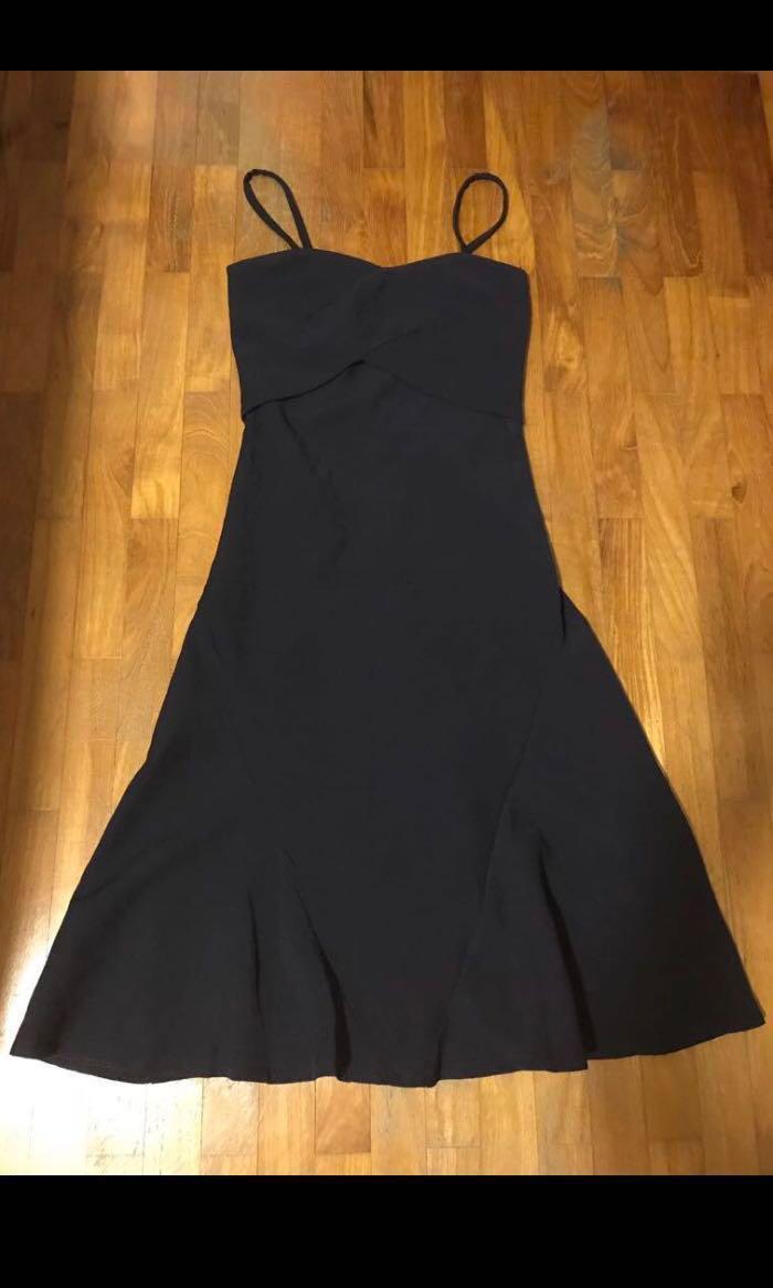 TEM navy spag dress