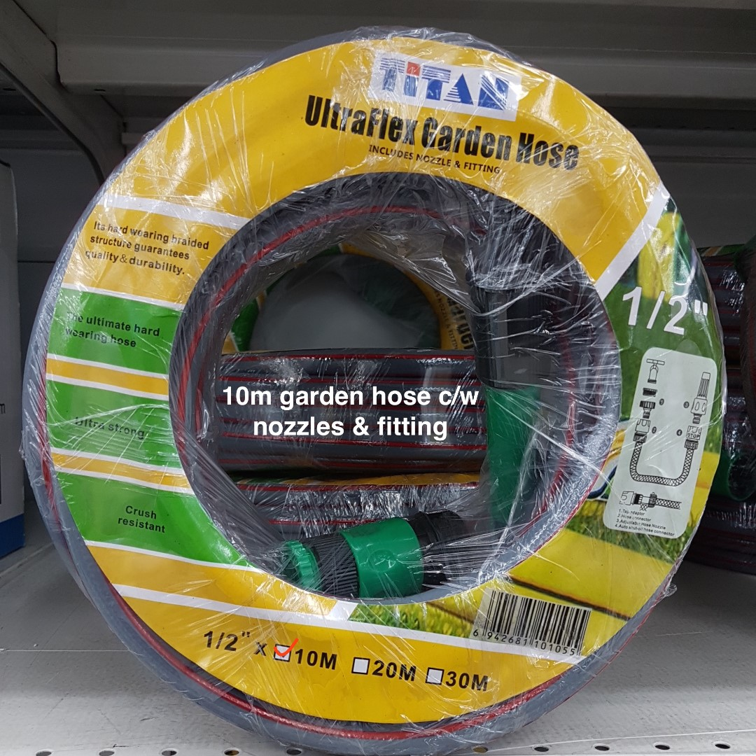 TITAN Garden Hose on Promotion @ Selffix DIY Outlets~