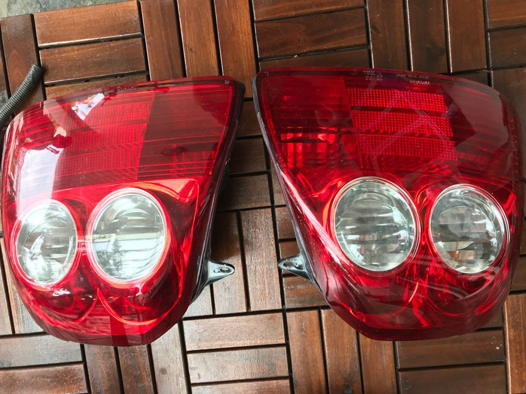 Toyota MR-S rear lamp
