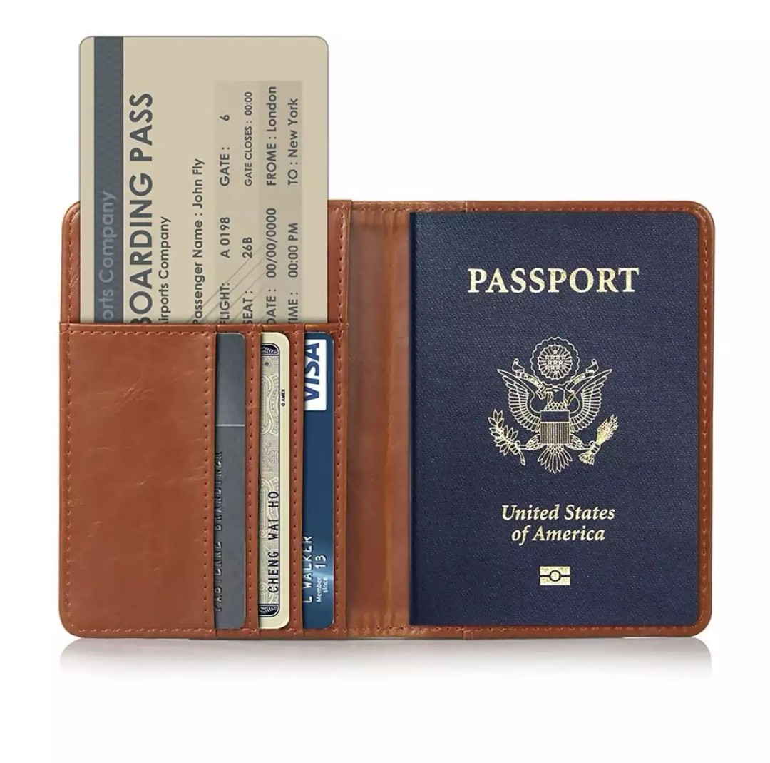 f3f7ba2a139e Travel Passport Covers Credit Card Boarding Pass Holder Protective ...