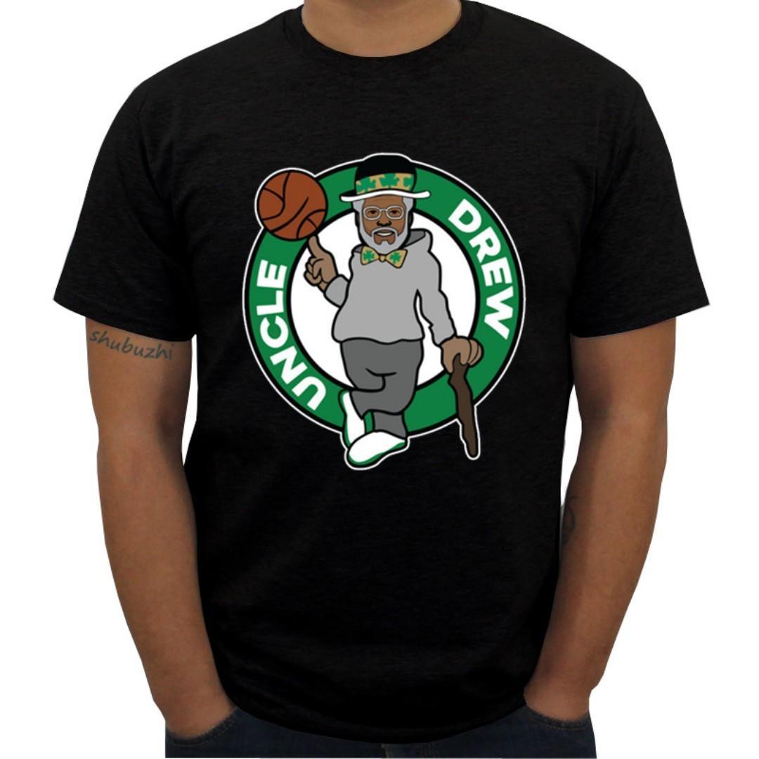 timeless design 09fd5 e4fcf Uncle Drew T-Shirt (Black), Sports, Sports Apparel on Carousell