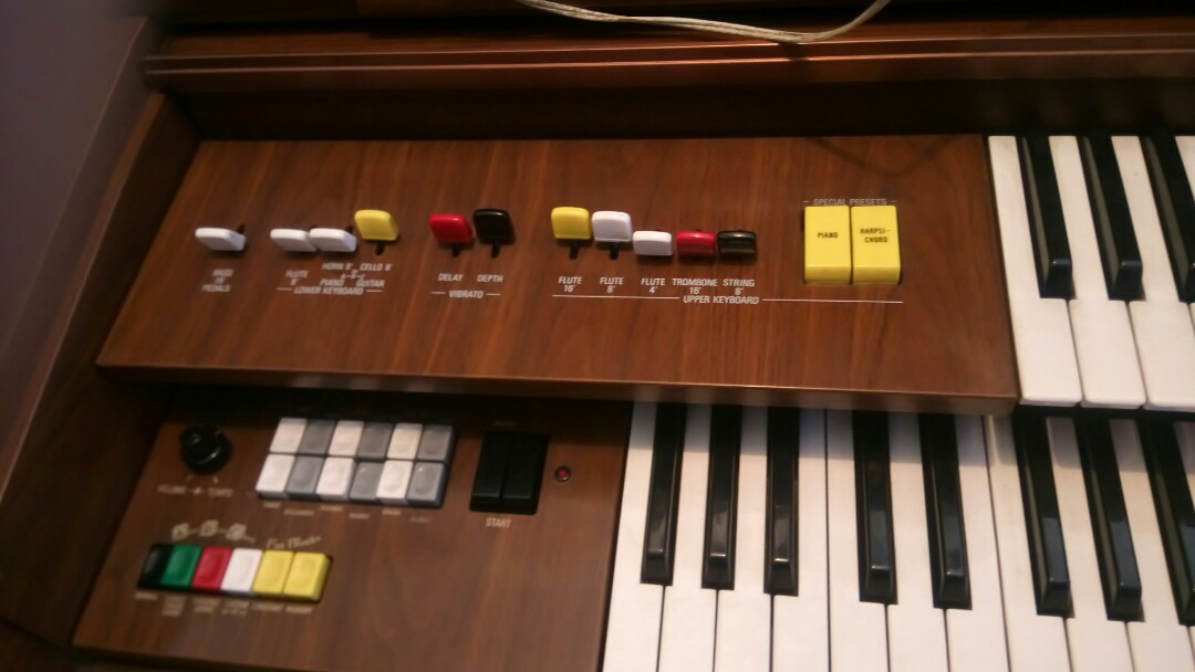 Used Yamaha organ for sale