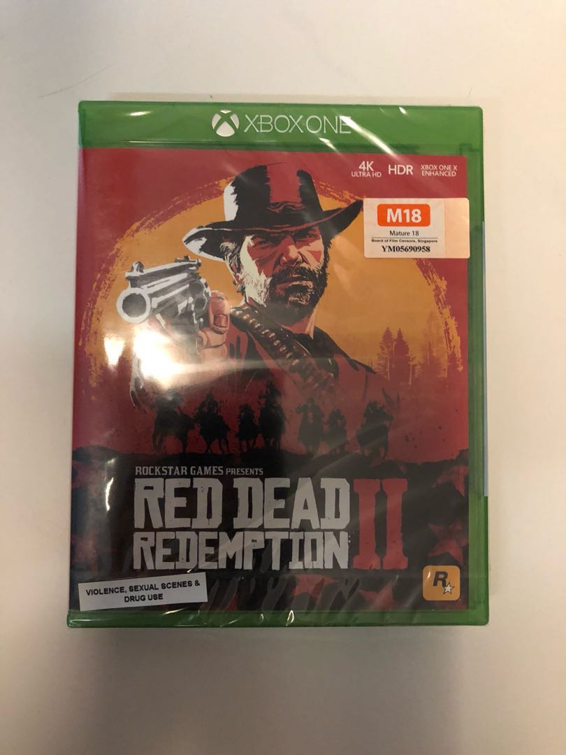 WTS- Red Dead Redemption 2 Xbox One