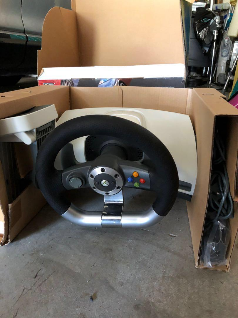 Xbox wheel and pedal + stand