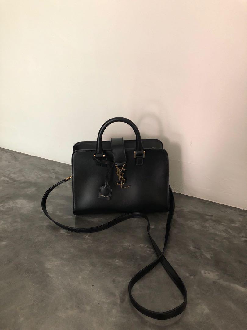 8a760c271fb YSL black handbag, Luxury, Bags & Wallets, Handbags on Carousell