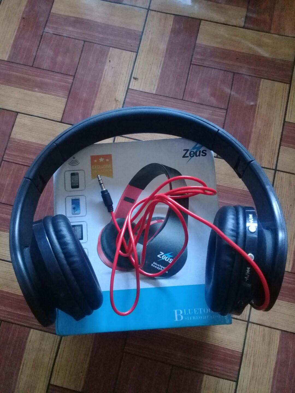 7f6defa1398 ZEUS Z-300 Bluetooth Stereo Headset, Electronics, Audio on Carousell