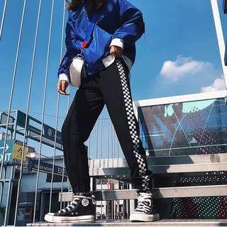 [PO] Checkered Checkerboard Sweatpants Joggers