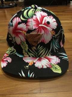 4bae383a80e Hater Floral Snapback Cap
