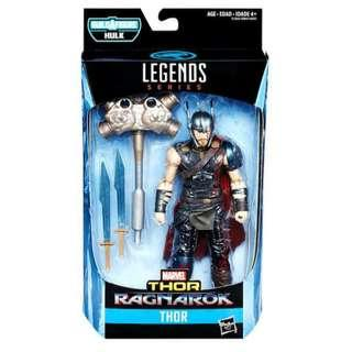MISB Marvel Legends Thor Ragnarok Thor With Hulk Baf Action Figure