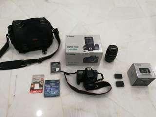Canon EOS 760D DSLR camera EF-S 18-135mm IS STM