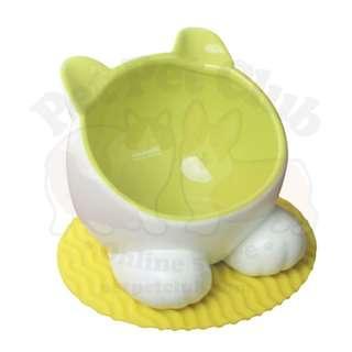 ViVi Pet 可愛貓貓造型陶瓷水碗