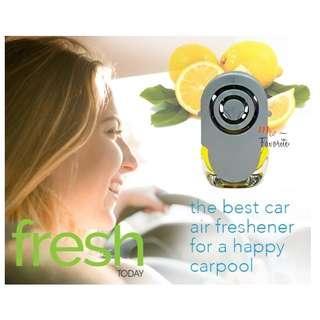 CAR FRESH Lemon Car Air Freshener (3 bottle 10ml)