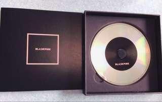 Blackpink mini album 連postcard貼紙