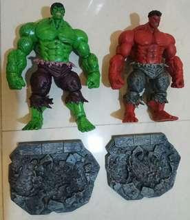 Marvel Select hulk red hulk