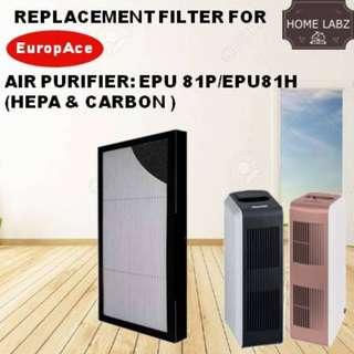 Europace EPU 81P/81H Compatible Replacement Filter