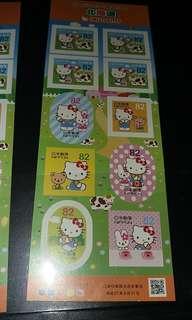 日本郵便局北海道篇Hello Kitty 郵票