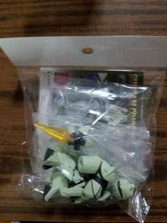 (二手) FW Gundam Converge 100號 TURN X 高達 食玩