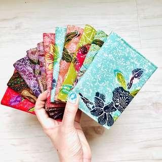 CHOPE! Batik Tissue Holder 3 in 1 Handmade in Singapore