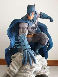 Batman on Lion Statue