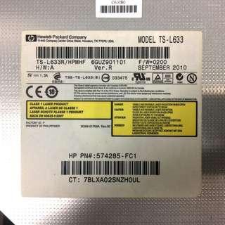 HP 筆電光碟機 TS-L633 SATA