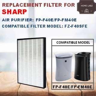 Sharp FP-F40E/FP-FM40E Replacement Filter