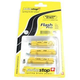 Swissstop Flash Pro Yellow Carbon Rim Brake Pads