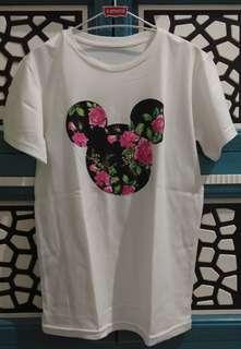 Tshirt Kepala Mickey