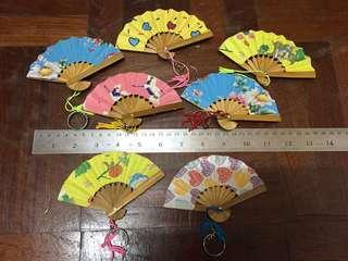 Mini decorative fan