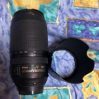 Nikon 70-300mm VR 4.5-5.6G (FX Lens)