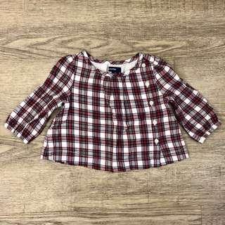 Baby GAP Long sleeve blouse 3-6m