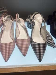 Sepatu vincci hak tahu