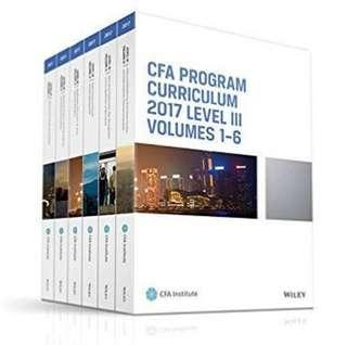 Chartered CFA, 放大量 自家精讀 2015-2017 Level 1/2/3 Notes, Qbank and Practice Exams 2015-2017