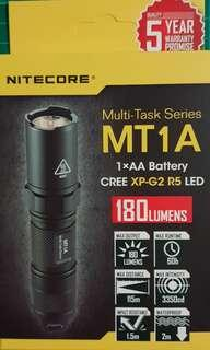 Nitecore - MT1A Torchlight/Flashlight