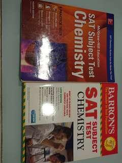 SAT Chemistry practise books