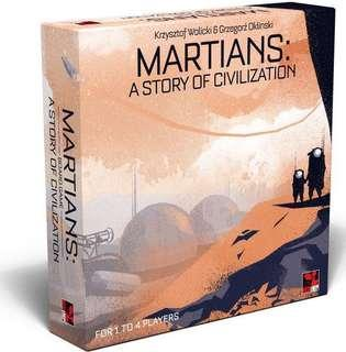 Martians: a story of civilisation