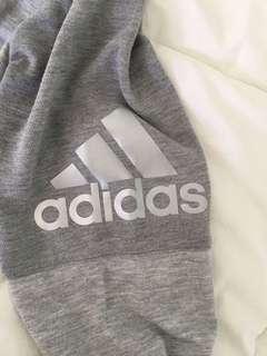 Price drop! Adidas grey climalite shirt size small
