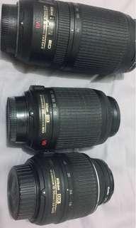 🚚 Nikon DX18-55mm 55-200mm 70-300mm VR kit鏡