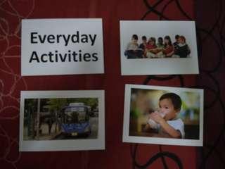 Everyday Activities - BN Flashcards Glenn Doman and Shichida