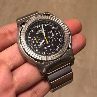 FS: Rare Seiko SBDP021 Speedmaster Prospex Takuya Yura limited edition titanium chronograph